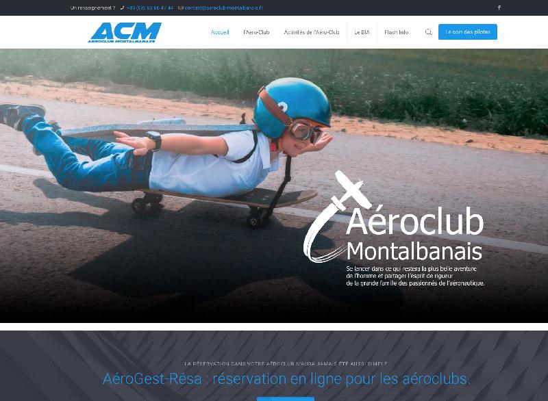 portail web aeroclub montalbanais